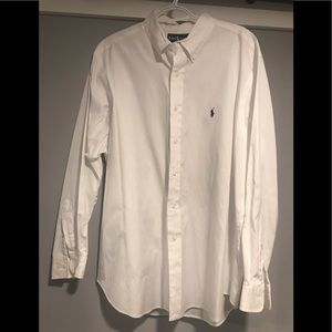 Men's White Ralph Lauren Shirt